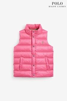 Ralph Lauren Pink Packable Gilet