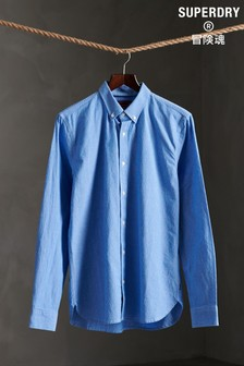 Superdry Long Sleeve Classic Dobby Shirt