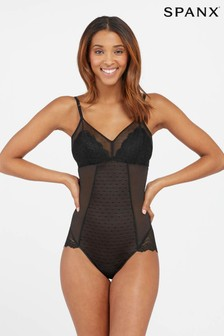 SPANX® Black Spotlight On Lace Bodysuit