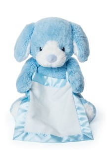 Peek A Boo Puppy Blue Toy
