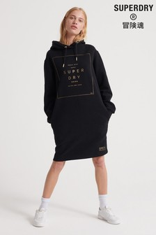Superdry Oversized Scandi Hooded Dress