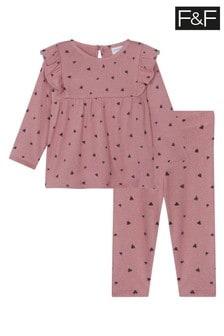 F&F Pink Puppy Marl Twosie