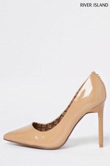Beige 3016 W Court Shoes