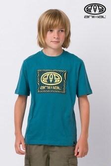 Animal Blue Thoron Graphic T-Shirt