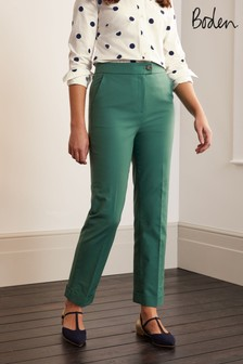 Boden Green Chatham High Waisted Trousers