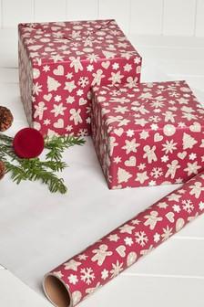 10m Christmas Wrapping Paper