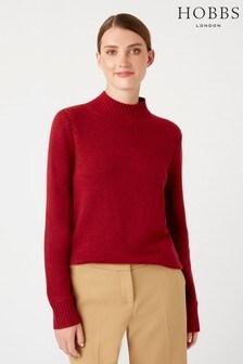 Hobbs Red Freda Sweater