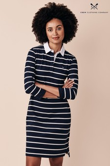 Crew Clothing Company Blue Rugby Dress