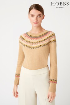 Hobbs Camel Greta Sweater
