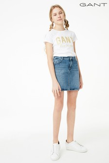 GANT Teen Girls Denim Skirt