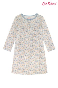 Cath Kidston® Kids White Mews Ditsy Small Nightie