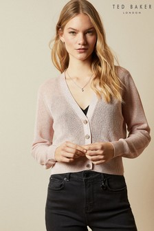Ted Baker Madieyy Button Through V-Neck Cardigan