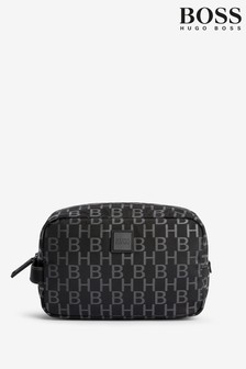 BOSS Black Pixel Washbag