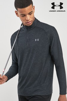 Under Armour Golf Black Playoff Quarter Zip Top