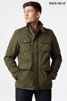White Stuff Green Derwent 4 Pocket Jacket