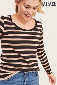 FatFace Cora Stripe Top
