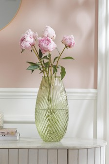 Leaf Glass Vase