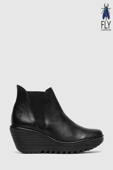 Fly London Wedge Ankle Boots