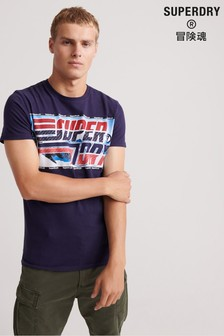 Superdry Downhill Photographic T-Shirt