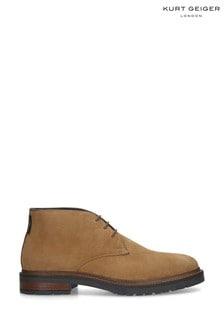 Kurt Geiger London Beige Franklin Boots