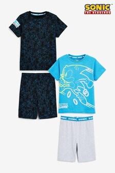 2 Pack Short Pyjamas (3-12yrs)