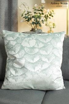 Jaden Metallic Weave Cushion by Ashley Wilde