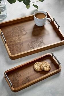 Bear Wooden Tray