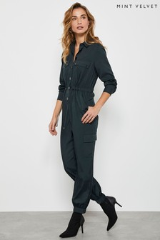 Mint Velvet Clean Utility Jumpsuit