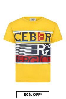 Ice Iceberg Boys Yellow T-Shirt