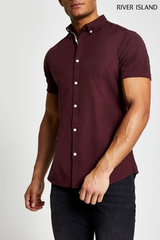 River Island Red Oxford Shirt