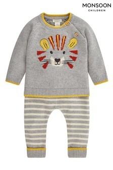 Monsoon Newborn Boy Lionel Knitted Set
