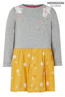 Monsoon Baby Becca Bunny 2-In-1 Dress