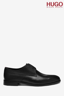 HUGO Black Midtown Derby Shoes