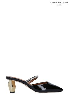 Kurt Geiger London Dania 55 Black Heeled Shoes