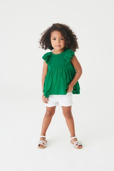 Broderie Frill Blouse (3mths-7yrs)