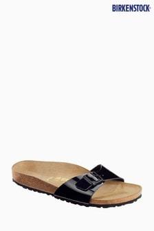 Birkenstock® Women's Black Patent Madrid Sandal
