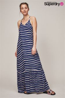 Superdry Evee Painted Stripes Maxi Dress