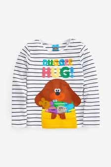 Interactive Hey Duggee Licence T-Shirt (3mths-7yrs)
