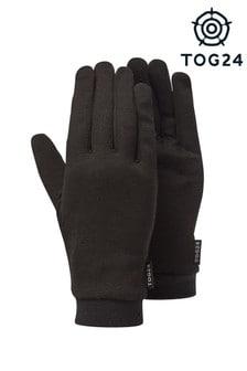 Tog 24 Black Cocoon Silk Liner Gloves