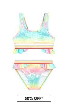 Billie Blush Girls Multicoloured Bikini