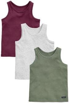 Vests Three Pack (1.5-16yrs)