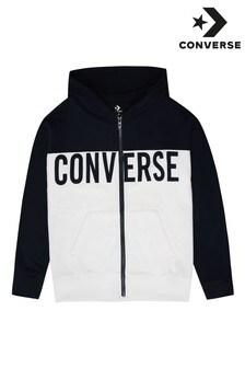 Converse Boys Colourblock Zip Hoody