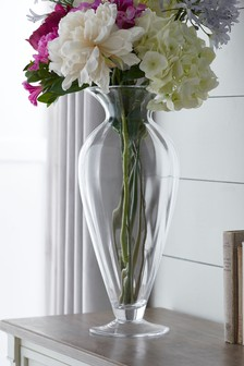Tall Footed Vase