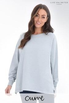 Live Unlimited Curve Light Grey Sweatshirt