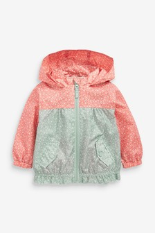 Ditsy Cagoule (3mths-7yrs)