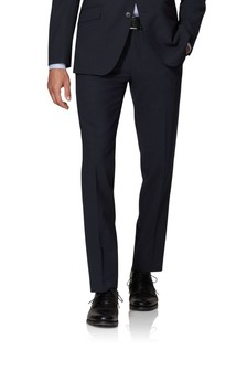 T.M. Lewin Kennington Navy Slim Fit Infinity Trousers