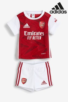 adidas Arsenal Home 20/21 Baby Kit