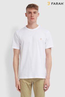 Farah White Danny T-Shirt