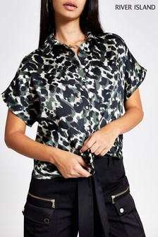 River Island Camo Carrie Shirt