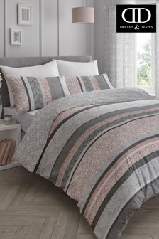 Hanworth Duvet Cover and Pillowcase Set by D&D